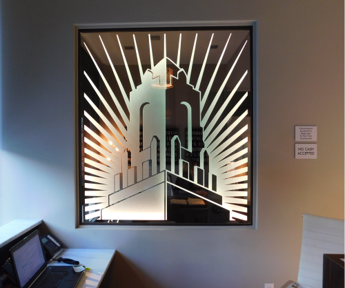 LED, interior, edge lit