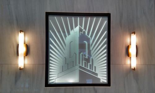 Interior identification, dimensional graphics