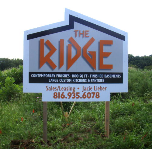 site sign, digital print graphic,